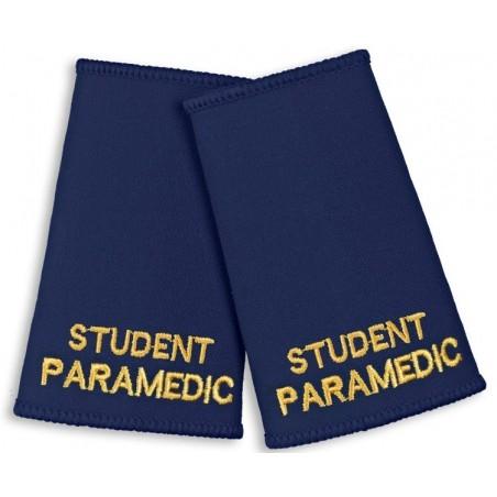 Student Paramedic Epaulette Sliders (Navy) - NU89
