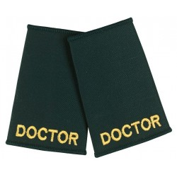 Doctor Epaulette Sliders (Dark Green) - NU74