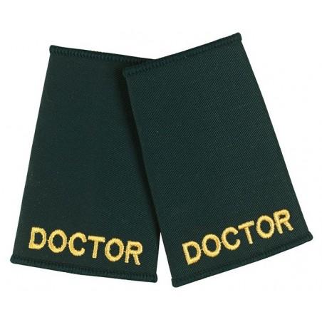 Doctor Epaulette Sliders (Dark Green) - NU74
