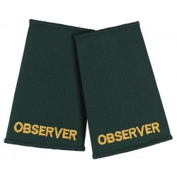 Observer Epaulette Sliders (Dark Green) - NU75