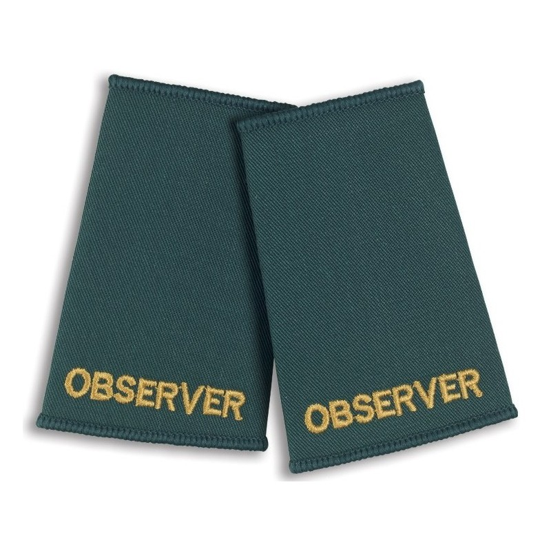 Observer Epaulette Sliders (Bottle Green) - NU75