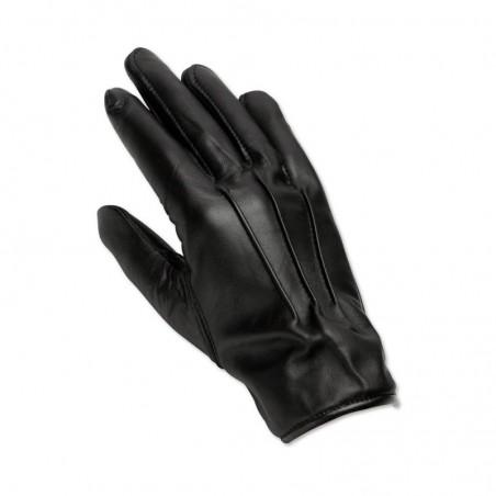 Men's Leather Gloves (Black) - LAG1