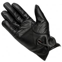 Women's Leather Gloves (Black) - LAG2