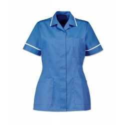 Women's Healthcare Tunic (Hospital Blue with White Trim) - D313