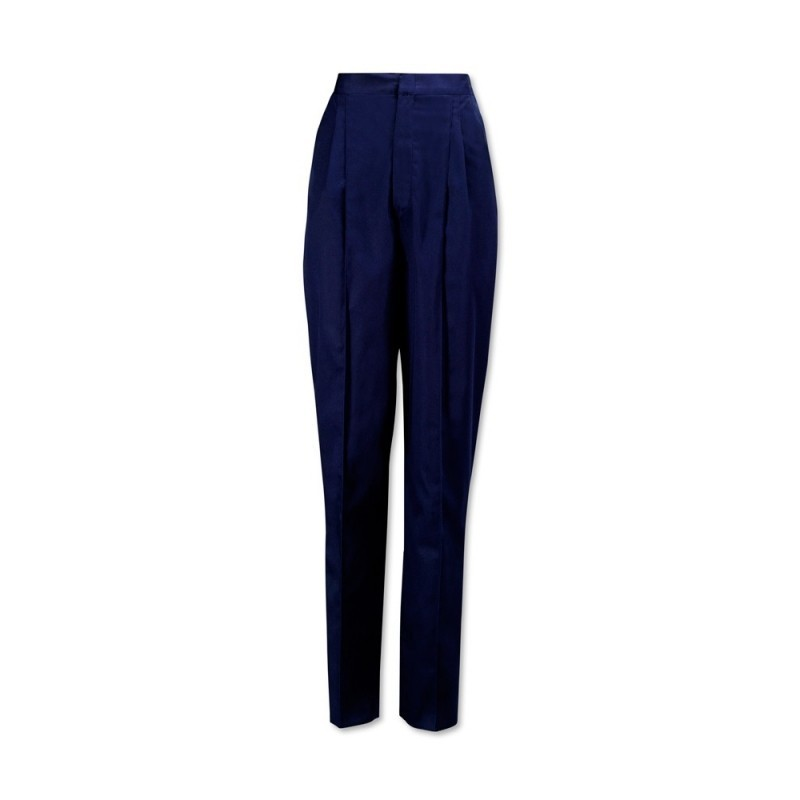 Essential Women's Pleat Front Trousers (Sailor Navy) NF640