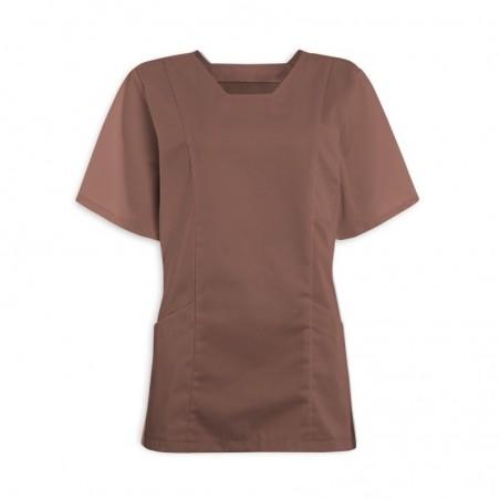 Women's Smart Scrub Tunic (Pebble) - FT503