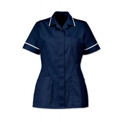 Women's Healthcare Tunic (Sailor Navy with White Trim) - D313