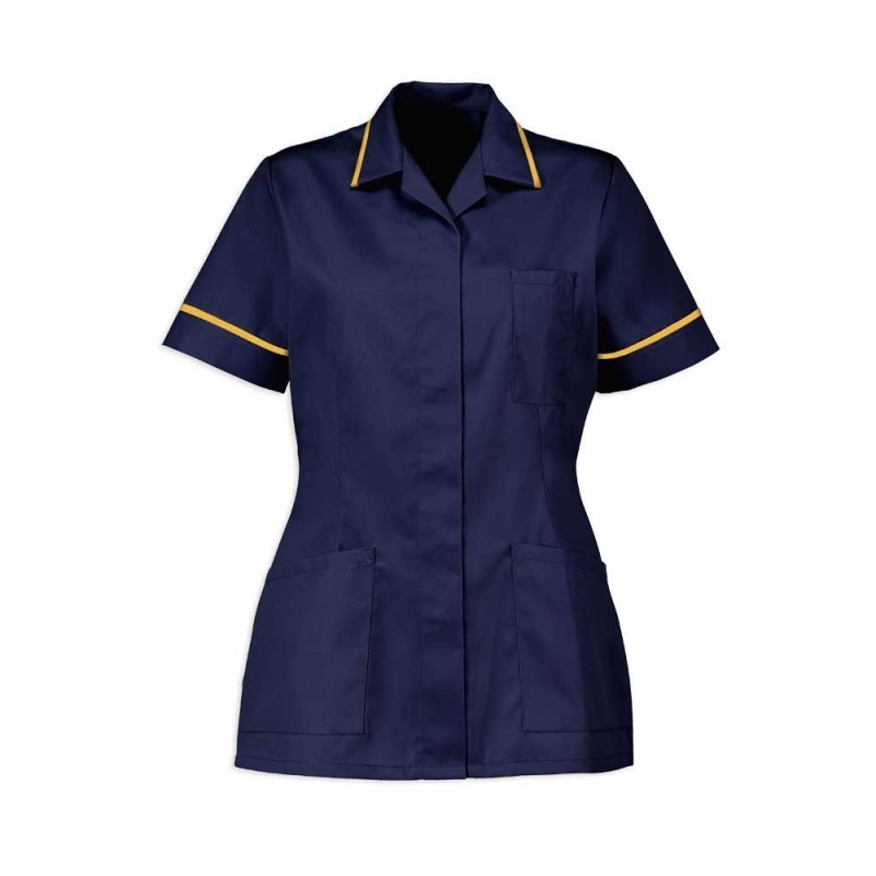 Women's Tunic (Sailor Navy With Yellow Trim) - D313