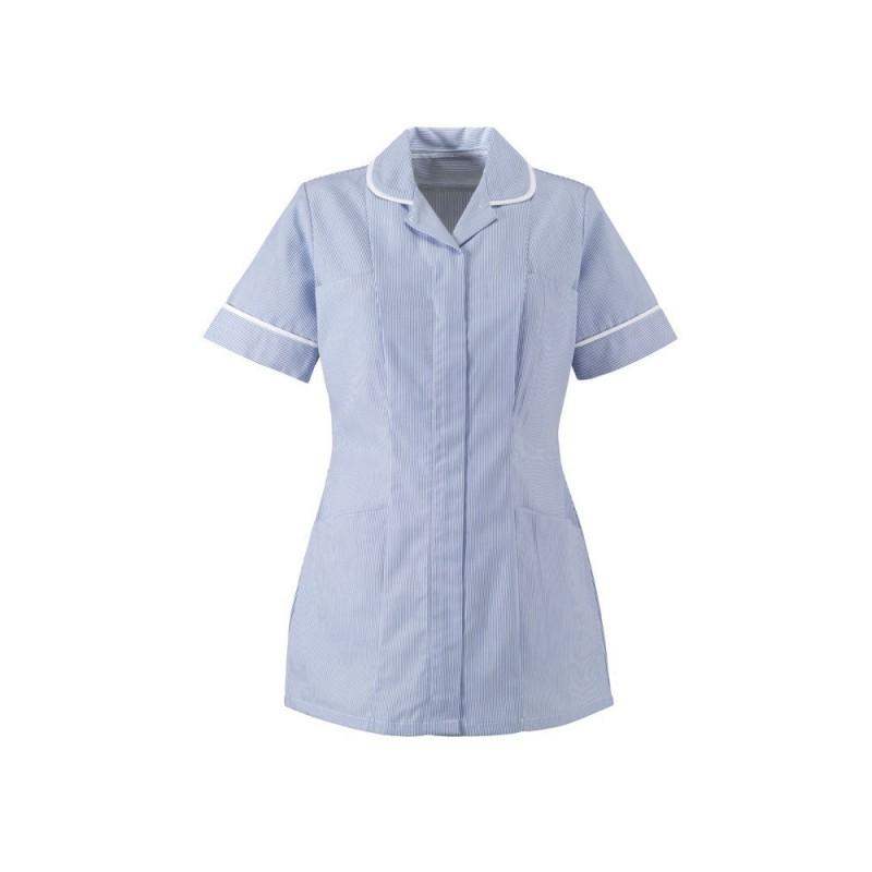 Women's Stripe Tunic (Blue With White Trim) ST298