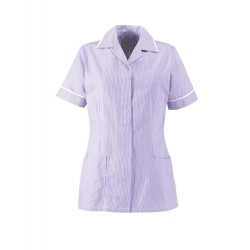 Women's Lightweight Tunic (Lilac with White Trim) - ST313