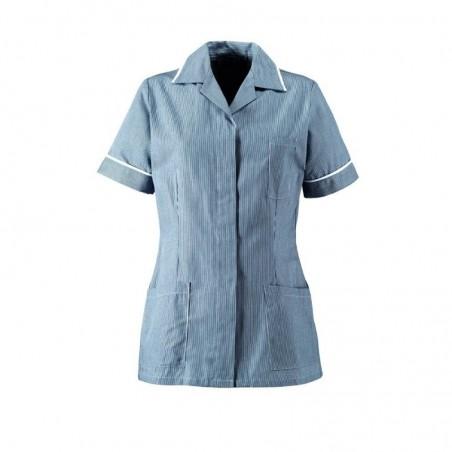 Women's Stripe Lightweight Healthcare Tunic ST313