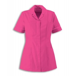 Women's Healthcare Tunic (Bright Pink with Pink Trim) - HP298