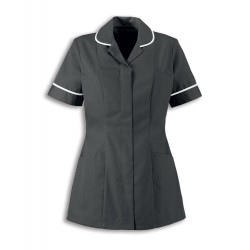 Women's Healthcare Tunic (Convoy Grey with White Trim) - HP298