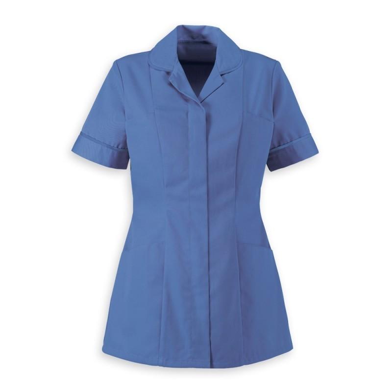 Women's Healthcare Tunic (Metro Blue With Metro Blue Trim) - HP298