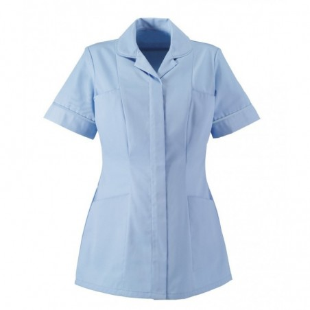 Women's Tunic (Pale Blue With Pale Blue Trim) - HP298