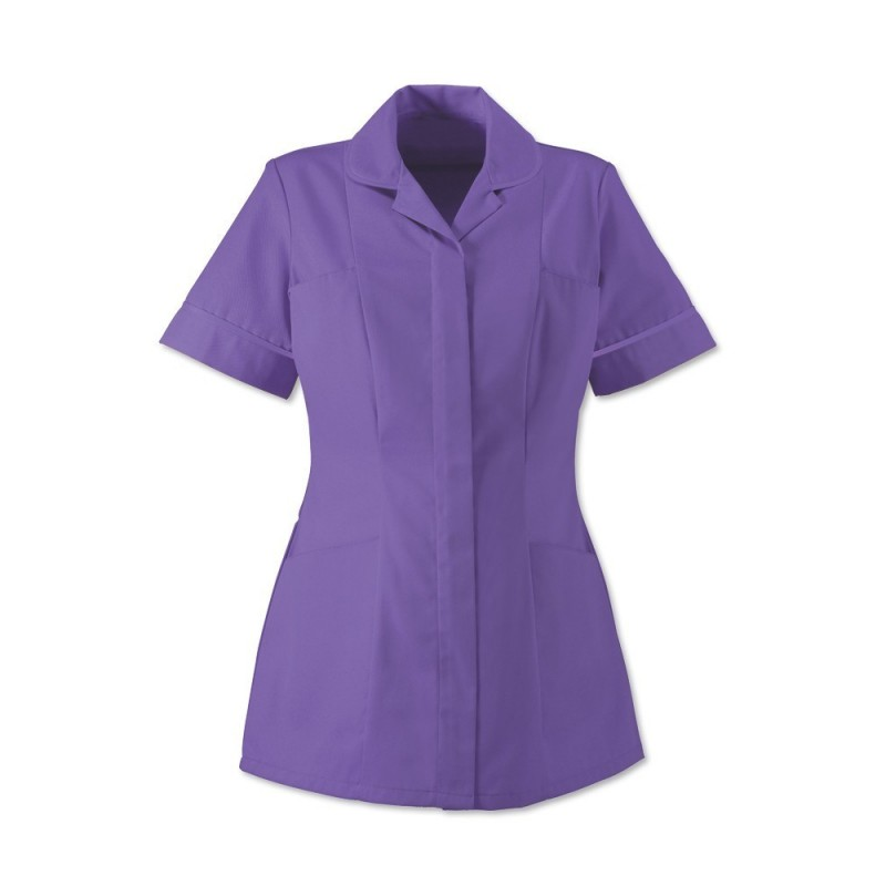 Women's Healthcare Tunic (Purple With Purple Trim) - HP298