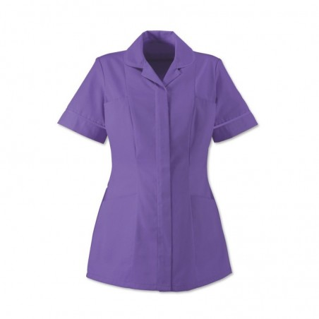 Women's Healthcare Tunic (Purple With Purple Trim) - HP298