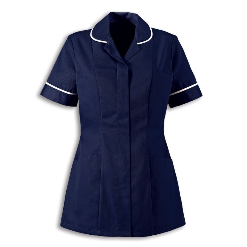 Women's Healthcare Tunic (Sailor Navy With White Trim) - HP298