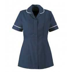 Women's Healthcare Tunic (Sailor Navy with Pale Blue Trim) - HP298