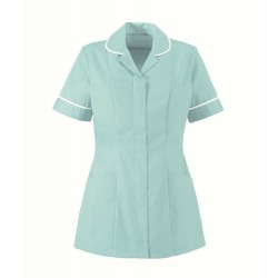 Women's Lightweight Tunic (Aqua with White Trim) - NF48
