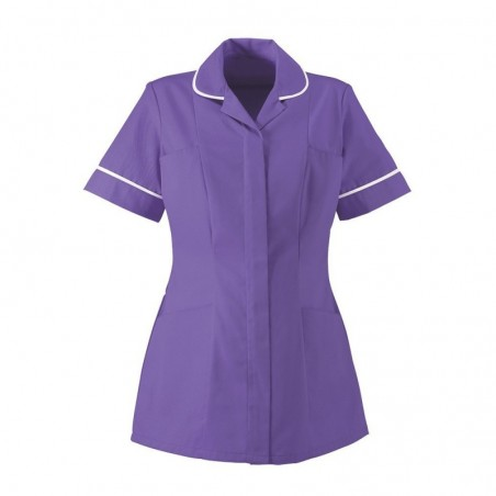 Women's Lightweight Tunic (Purple With White Trim) NF48