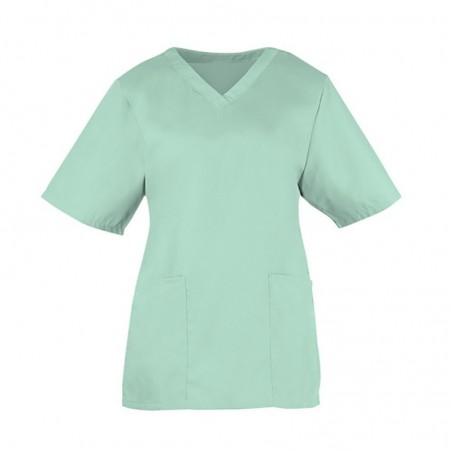 Women's Scrub Tunic (Aqua) - NF26