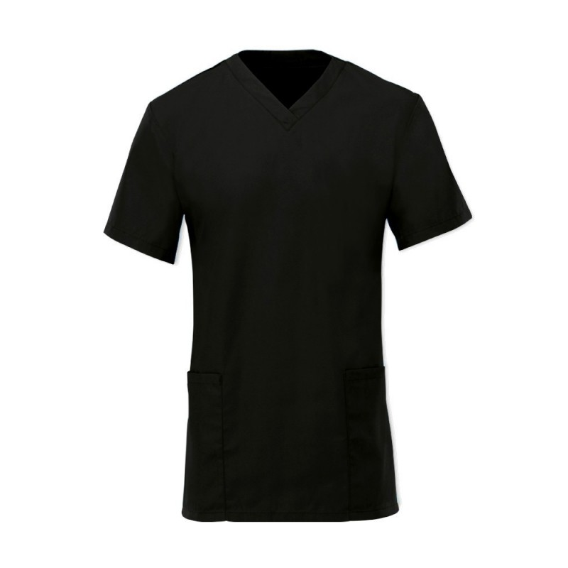 Women's Scrub Tunic (Black) - NF26