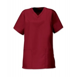 Women's Scrub Tunic (Burgundy) - NF26