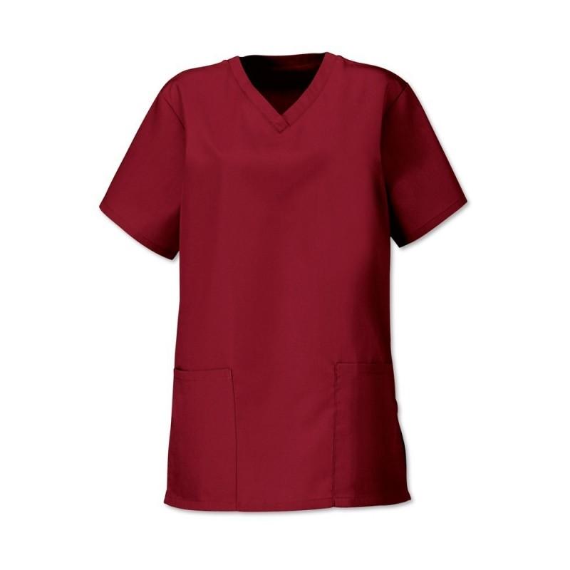 Women's Scrub Tunic (Burgundy) - NF26