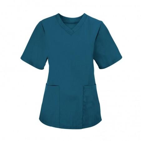 Women's Scrub Tunic (Caribbean Blue) - NF26
