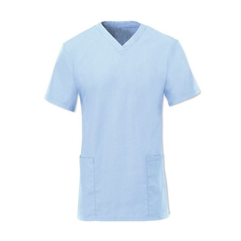Women's Scrub Tunic (Pale Blue) - NF26