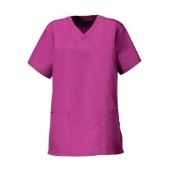 Women's Scrub Tunic (Magenta) - NF26