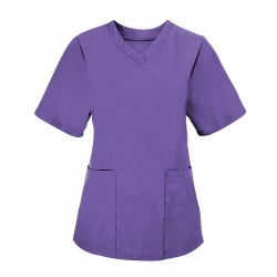 Women's Scrub Tunic (Purple) - NF26