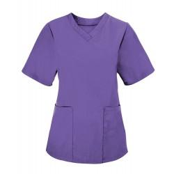 Women's Scrub Tunic (Purple) - NF26