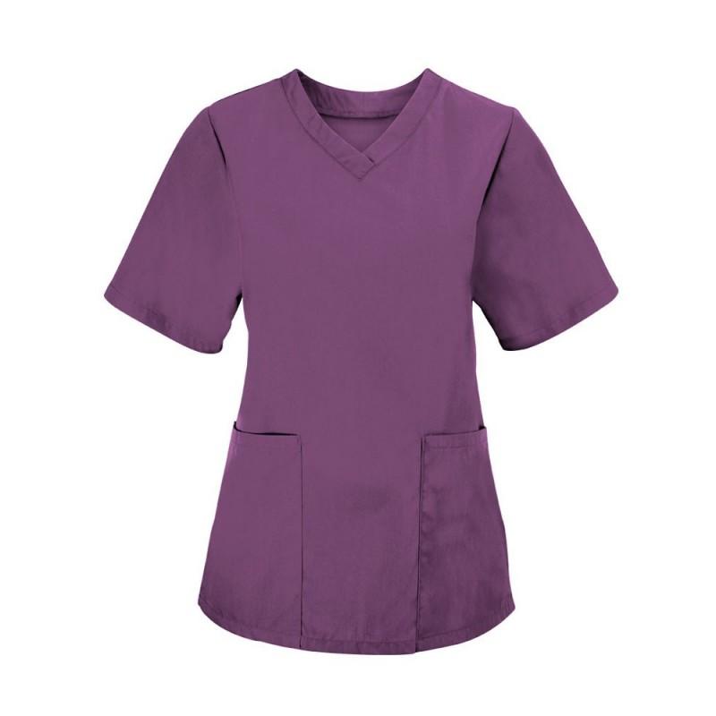 Women's Scrub Tunic (Amethyst) - NF26