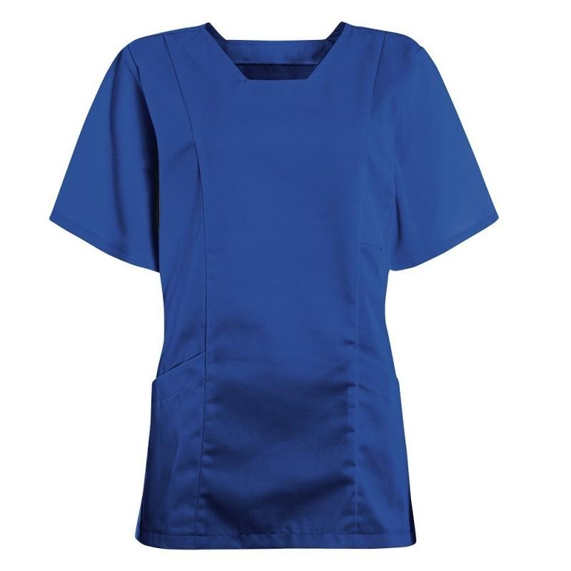 Women's Smart Scrub Tunic (Royal Box) - FT503