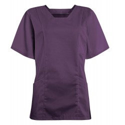 Women's Smart Scrub Tunic (Amethyst) - FT503