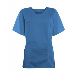 Women's Smart Scrub Tunic (Hospital Blue) - FT503