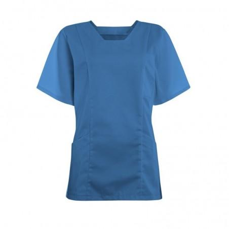 Women's Smart Scrub Tunic (Hospital Blue) - FT503