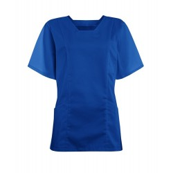 Women's Smart Scrub Tunic (Bright Royal) - FT503