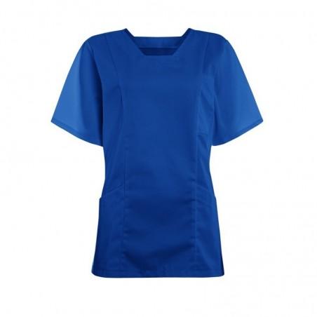 Women's Smart Scrub Tunic (Bright Royal) - FT503
