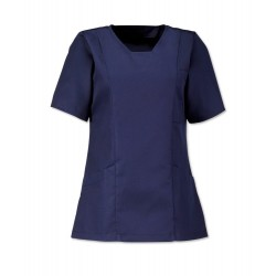 Women's Smart Scrub Tunic (Sailor Navy) - FT503