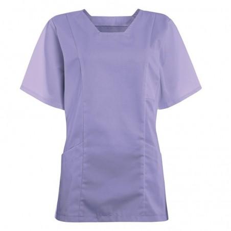 Women's Smart Scrub Tunic (Lilac) - FT503