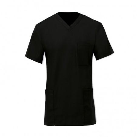 Scrub Tunic (Black) - D397