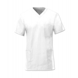 Scrub Tunic (White) - D397
