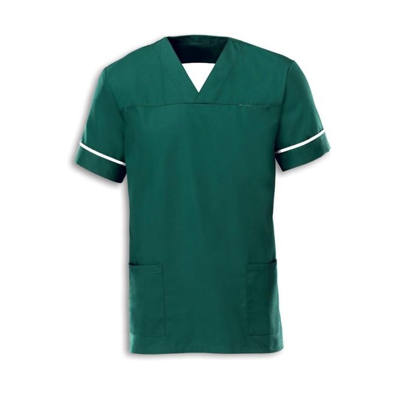 Smart Scrub Tunic (Bottle Green) - NU164