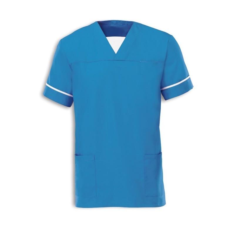 Smart Scrub Tunic (Hospital Blue) - NU164
