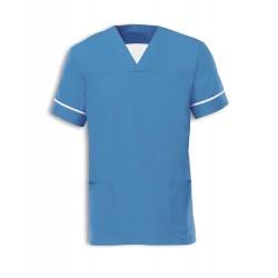 Smart Scrub Tunic (Metro Blue) - NU164