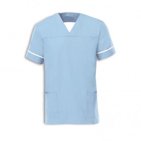 Smart Scrub Tunic (Pale Blue) - NU164