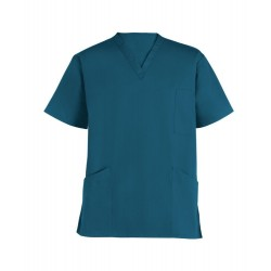 Smart Scrub Tunic (Caribbean Blue) - UT404